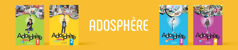 Adosphere 1 Livre De L Eleve Cd Audio