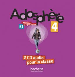 Adosphère 4 : CD audio classe (x2)
