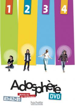 Adosphère 1 - 2 - 3 - 4 : DVD NTSC