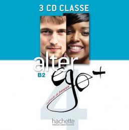 Alter Ego + 4 : CD audio classe