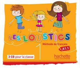 Les Loustics 1 : CD audio classe (x3)