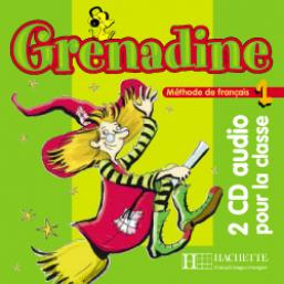 Grenadine 1 - CD audio classe (x2)