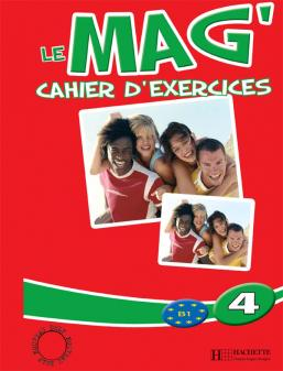 Le Mag' 4 - Cahier d'exercices
