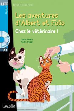 Albert et Folio - Chez le vétérinaire + CD Audio