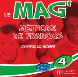 Le Mag' 4 - CD audio classe