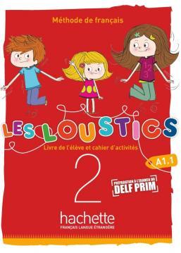 Les Loustics (6 niveaux) volume 2 : Livre de l'élève + cahier d'activités + CD audio