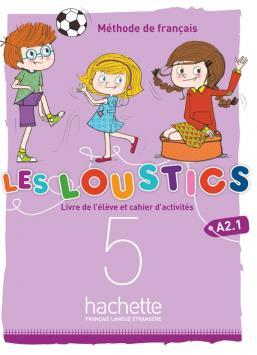 Les Loustics (6 niveaux) volume 5 : Livre de l'élève + cahier d'activités + CD audio