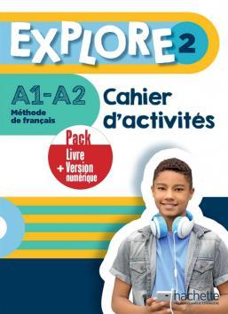 EXPLORE 2 Pack Cahier d'activités + Version numérique