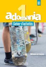 Adomania 1 : Cahier d'activités + CD audio + Parcours digital