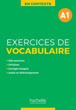 En Contexte - Exercices de vocabulaire A1 + audio MP3 + corrigés