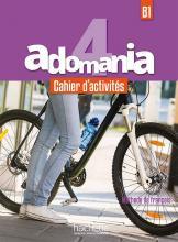 Adomania 4 - Cahier d'activités + CD audio + Parcours digital