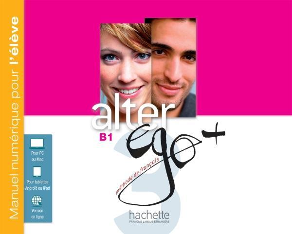 Alter Ego + 3 : Manuel numérique élève (carte)