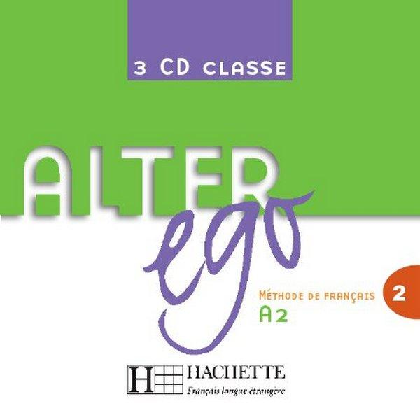 Alter Ego 2 - CD audio classe (x3)