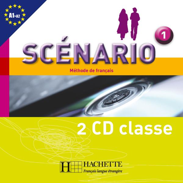Scénario 1 - CD audio classe (x2)