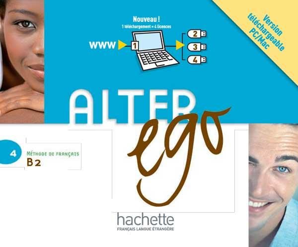 Alter Ego 4 : Manuel numérique interactif pour l'enseignant (carte de téléchargement)