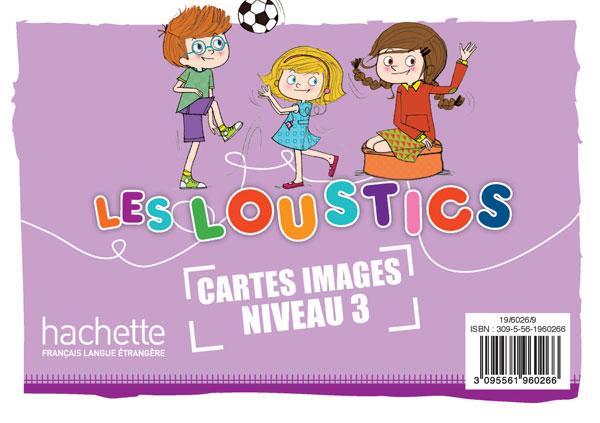 Les Loustics 3 : Cartes images en couleurs (x100)