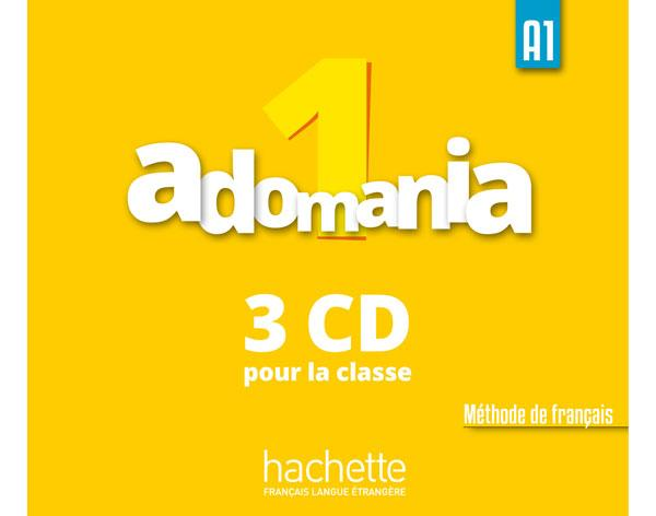 Adomania 1 : CD audio classe