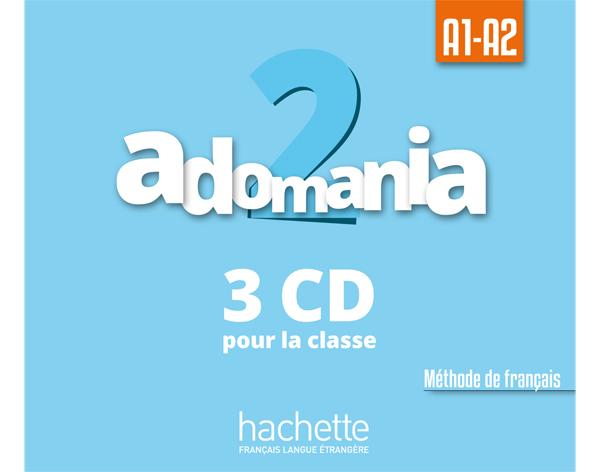 Adomania 2 : CD audio classe