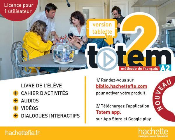 TOTEM 2 appli carte de téléchargement