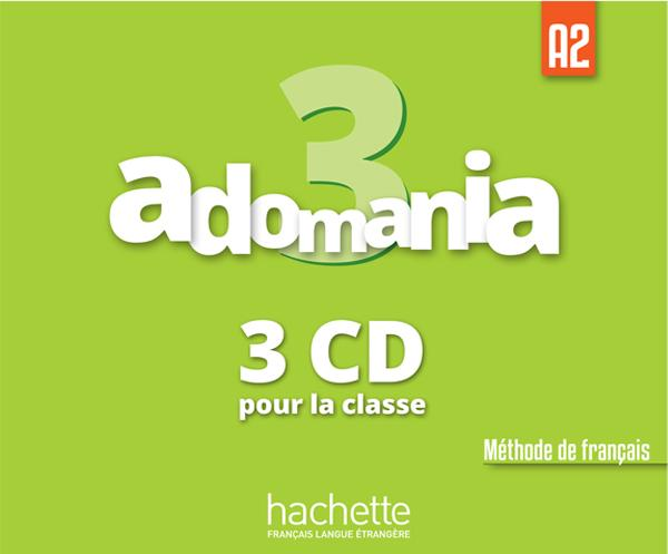 Adomania 3 : CD audio classe