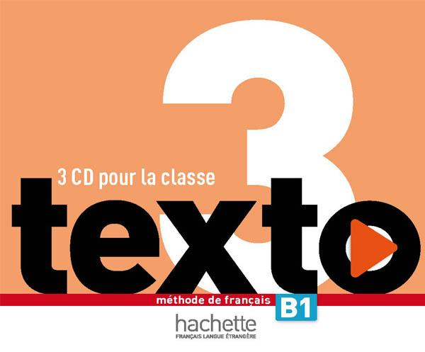 Texto 3 : CD audio classe (x3)