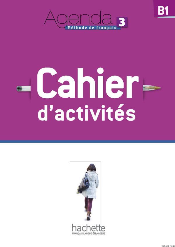 Agenda 3 - Cahier d'activités + CD audio