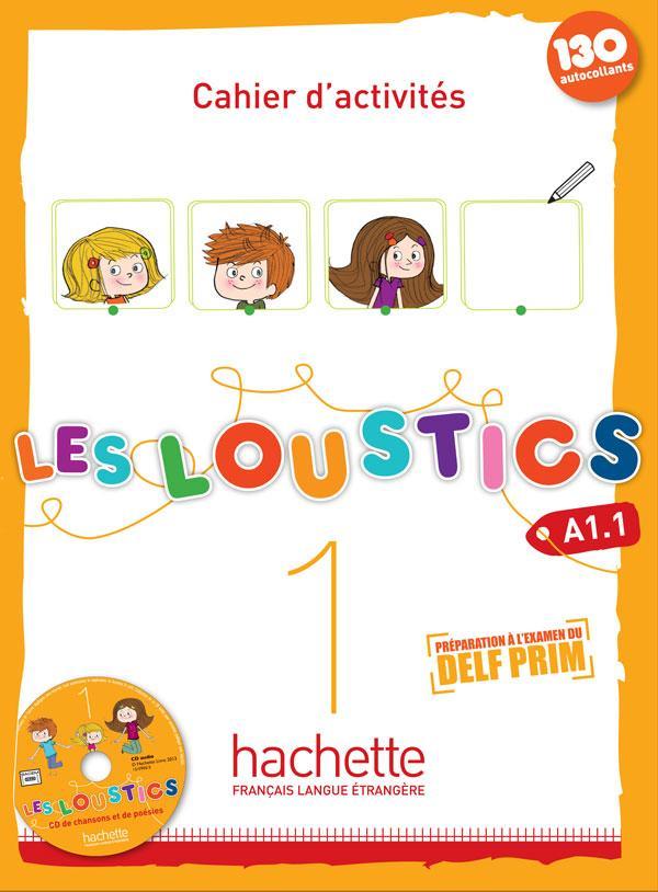 Les Loustics 1 : Cahier d'activités + CD audio