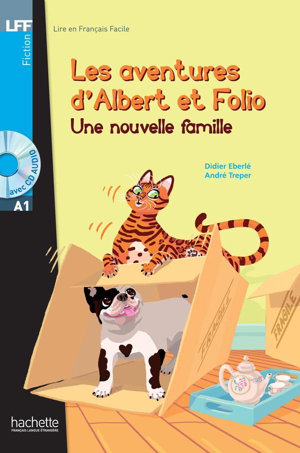 Albert et Folio : Une nouvelle famille + CD Audio