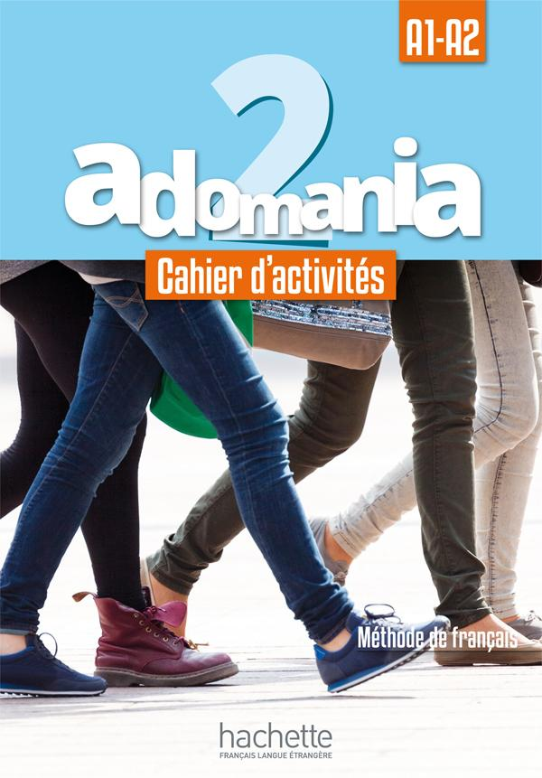 Adomania 2 : Cahier d'activités + CD audio + Parcours digital