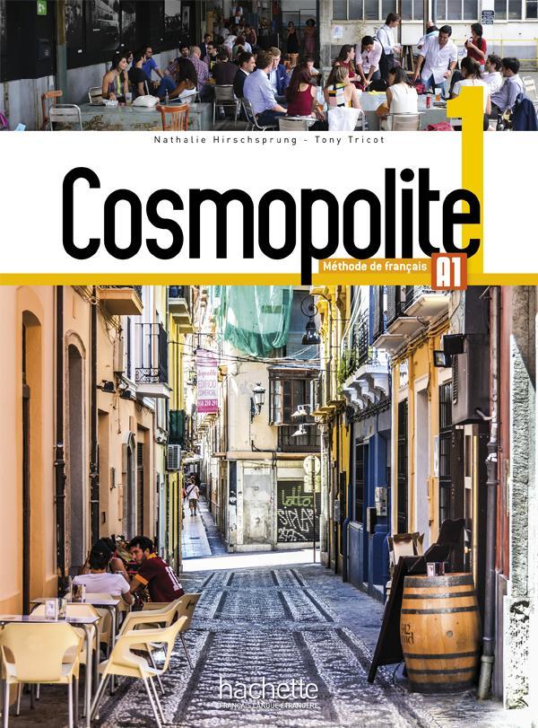 Cosmopolite 1 : Livre de l'élève + DVD ROM + Parcours digital
