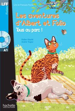 Albert et Folio : Tous au parc + CD audio (A1)
