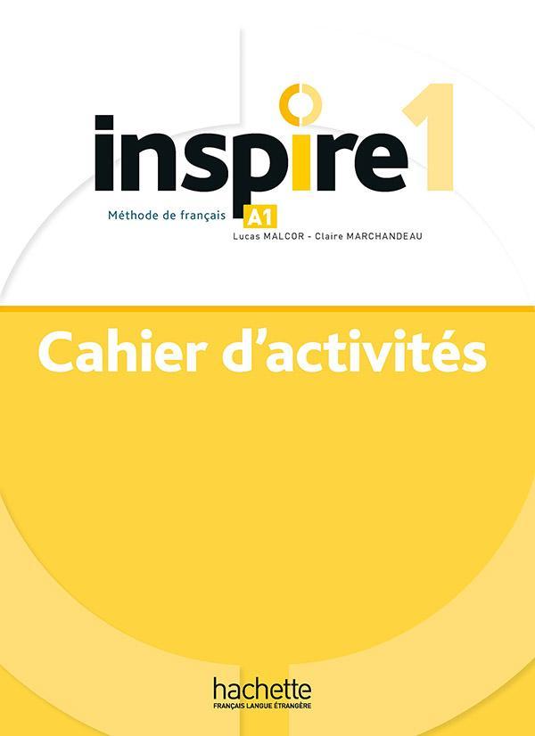 Inspire 1 : Cahier d'activités + audio MP3