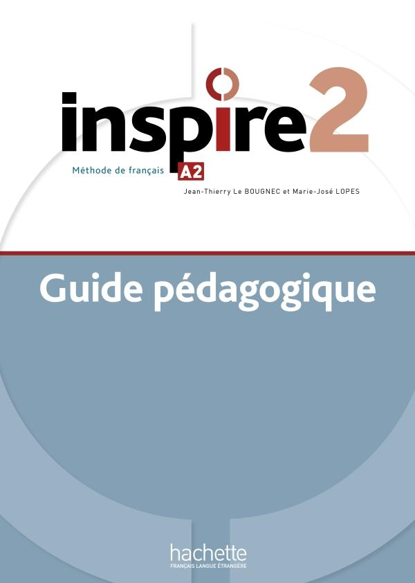 Inspire 2 : Guide pédagogique + audio (tests) téléchargeable