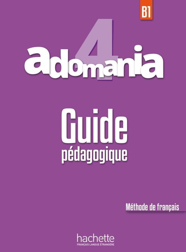 Adomania 4 Guide Pédagogique