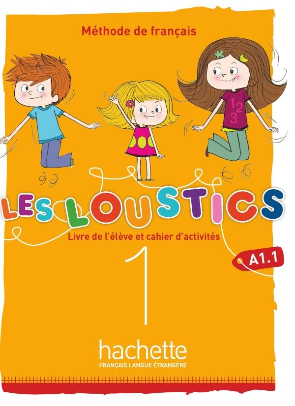 Les Loustics (6 niveaux) volume 1 : Livre de l'élève + cahier d'activités + CD audio
