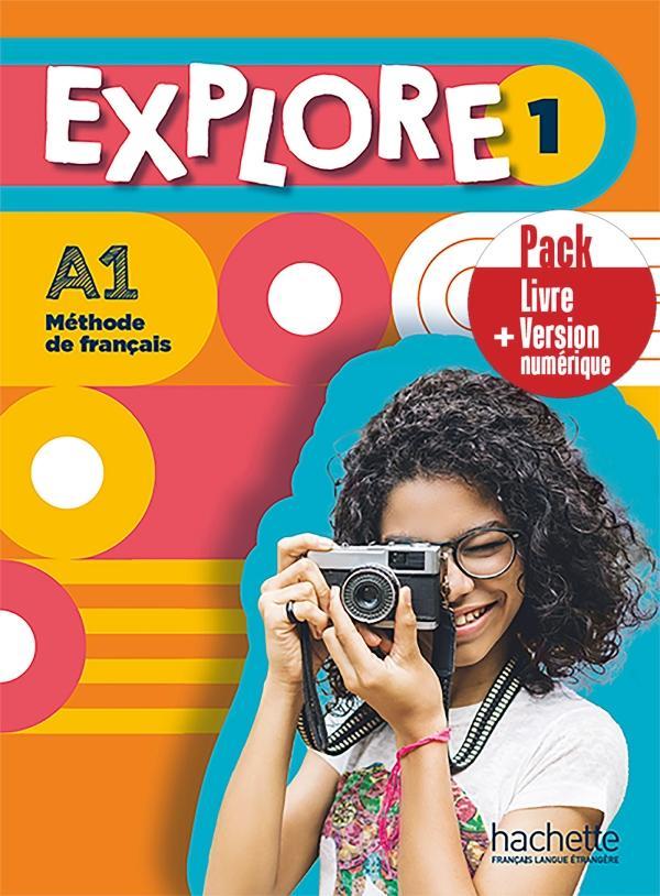 EXPLORE 1 Pack Livre de l'élève + Version numérique